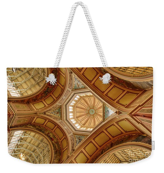 Magestic Architecture Weekender Tote Bag