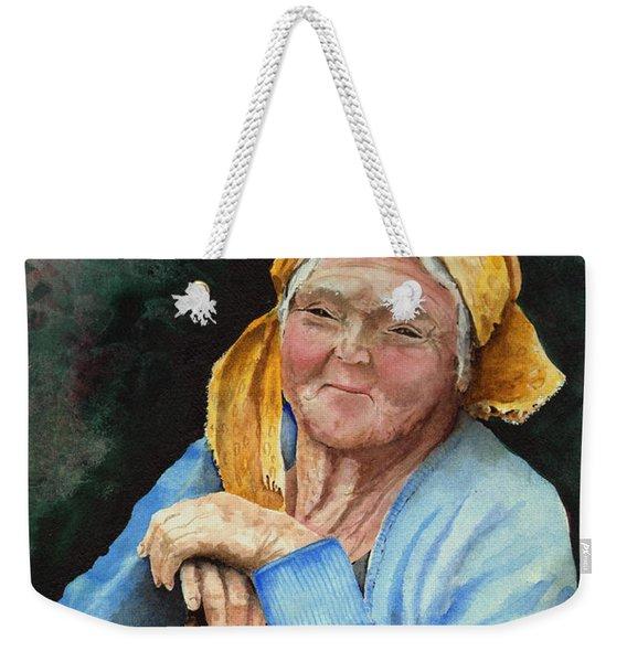 Maggie Weekender Tote Bag