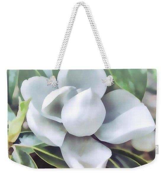 Magnolia Opening 2 Weekender Tote Bag