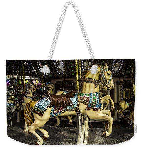 Magic Carrousel Horse Ride Weekender Tote Bag