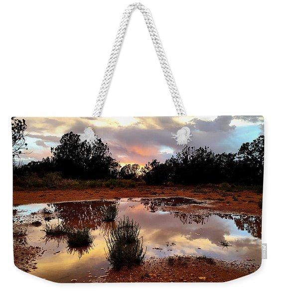 Magic In A Rain Puddle Weekender Tote Bag