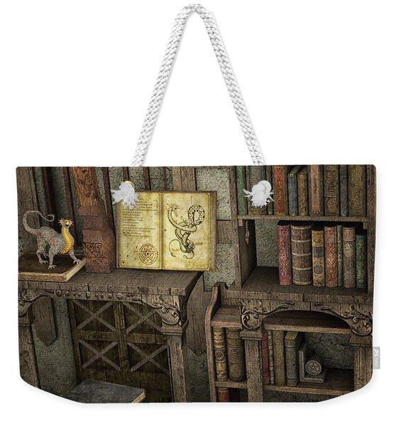 Magic Literature Weekender Tote Bag