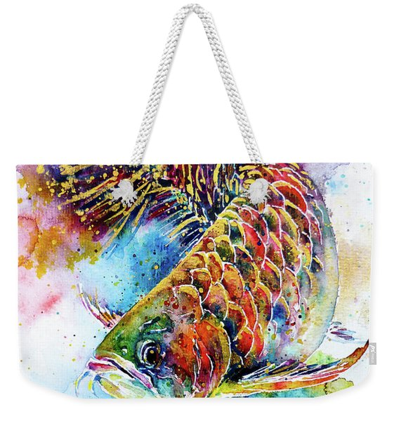 Magic Of Arowana Weekender Tote Bag