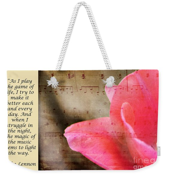 Magic Of Music Weekender Tote Bag