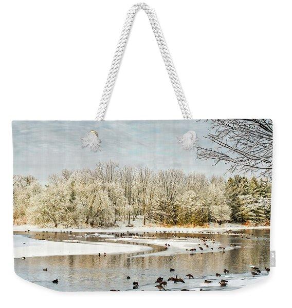 Magic Of Winter Weekender Tote Bag