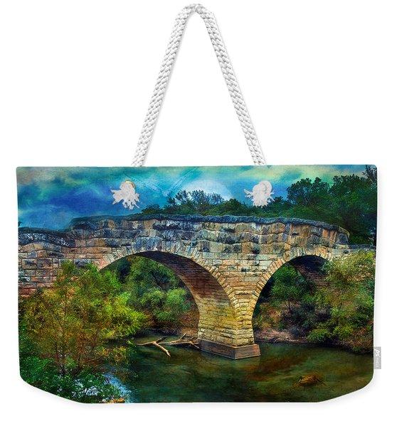 Magical Middle Of Nowhere Bridge Weekender Tote Bag
