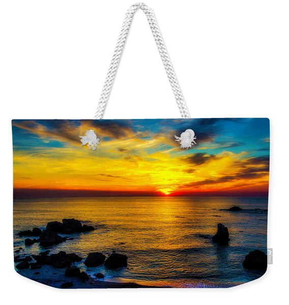 Magical Pacific Sunset Weekender Tote Bag
