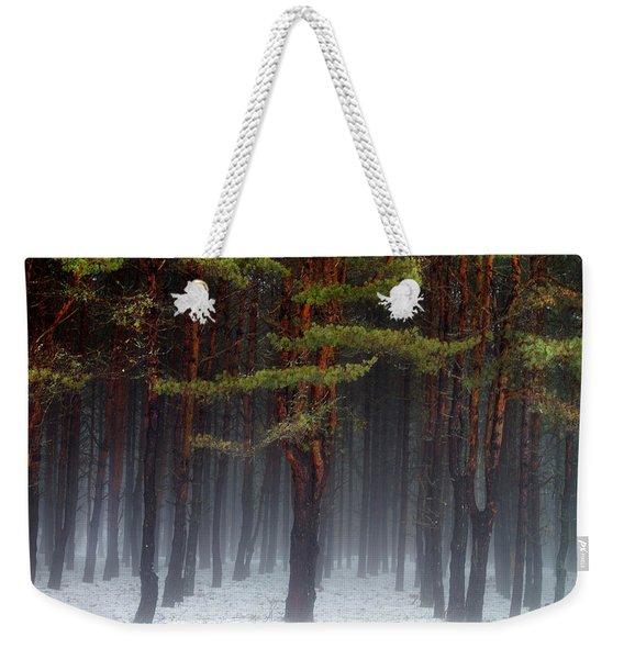 Magical Pines Weekender Tote Bag