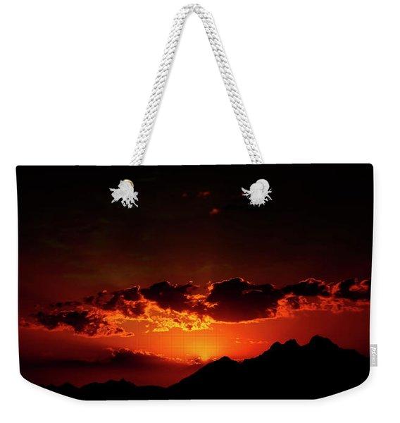 Magical Sunset In Africa 2 Weekender Tote Bag