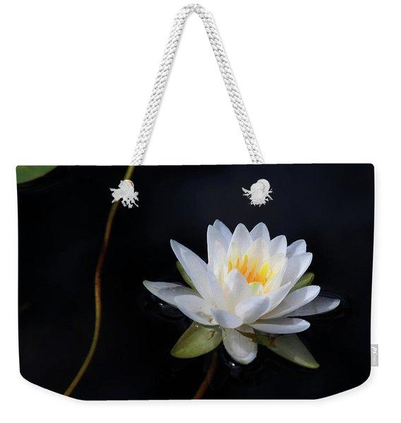 Magical Water Lily Weekender Tote Bag