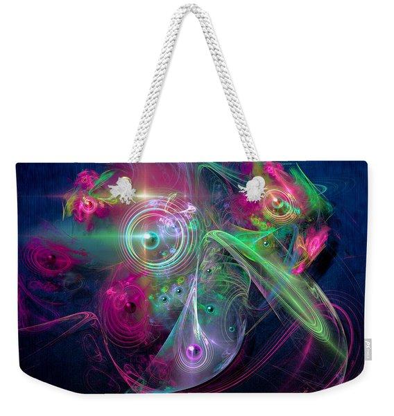 Magnetic Fields Weekender Tote Bag