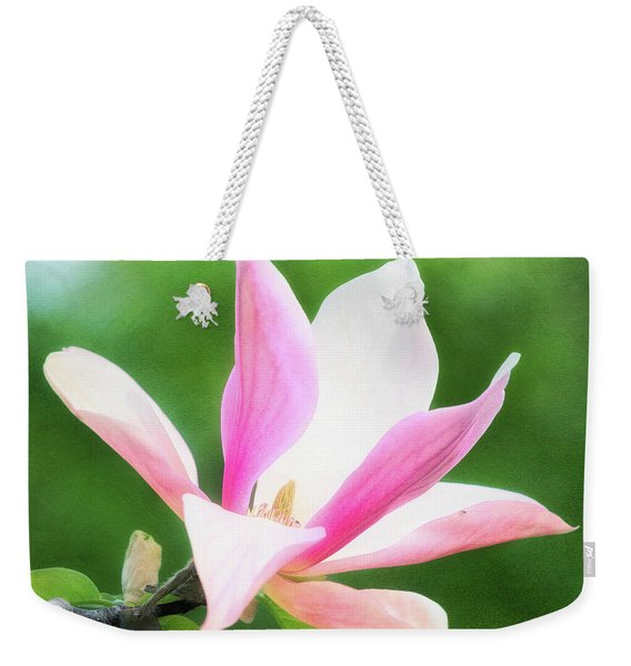 Magnificent Daybreak Magnolia At Day's End Weekender Tote Bag