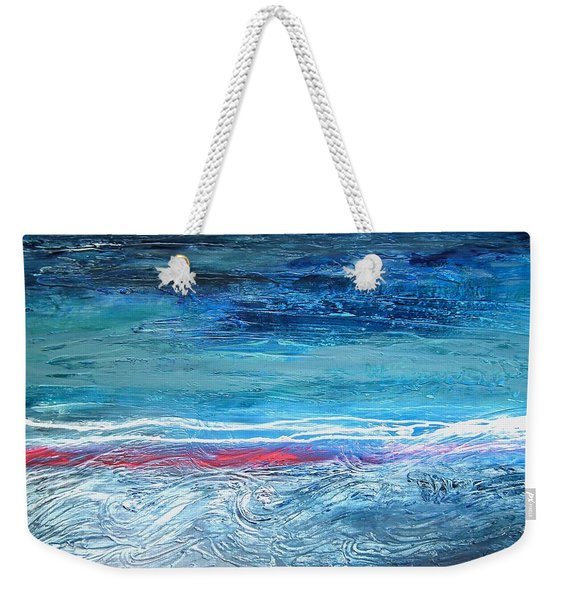 Magnificent Morning Abstract Seascape Weekender Tote Bag