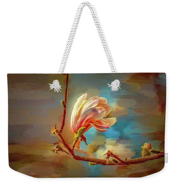 Magnolia Abs #h4 Weekender Tote Bag