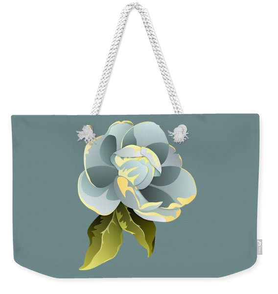 Magnolia Blossom Graphic Weekender Tote Bag