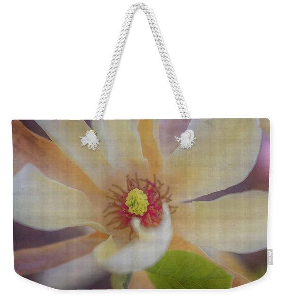 Magnolia Blossom Weekender Tote Bag