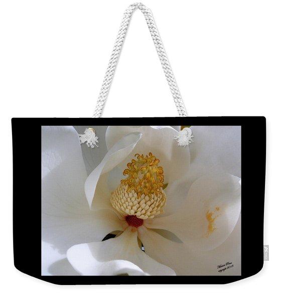 Magnolia Happiness Weekender Tote Bag
