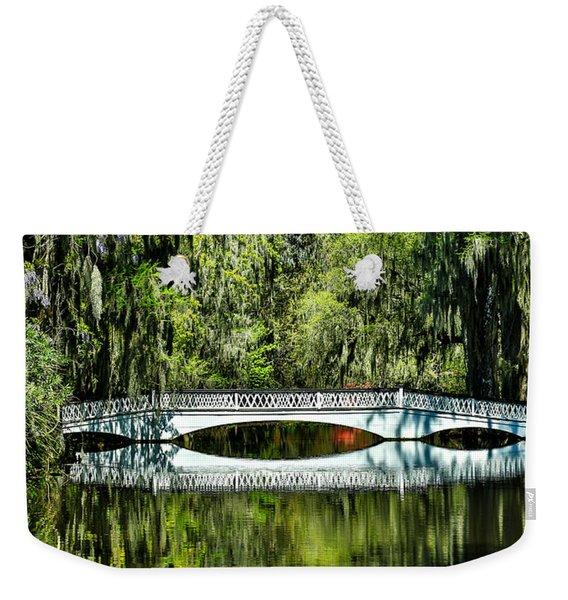 Magnolia Plantation Bridge - Charleston Sc Weekender Tote Bag