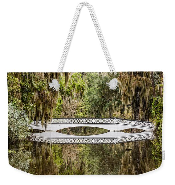 Magnolia Plantation Gardens Bridge Weekender Tote Bag