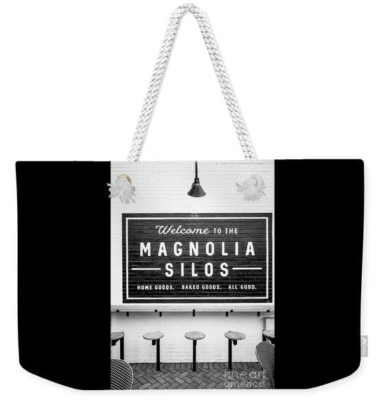 Magnolia Silos Baking Co. Weekender Tote Bag