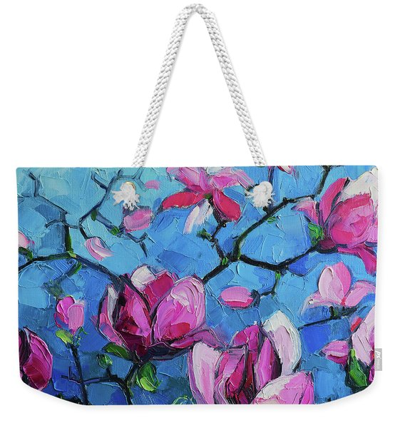 Magnolias For Ever Weekender Tote Bag