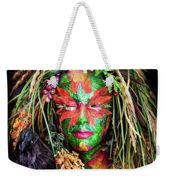 Maiden Of Earth Weekender Tote Bag