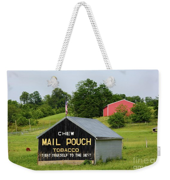Mail Pouch Barn In Rural Maryland Weekender Tote Bag