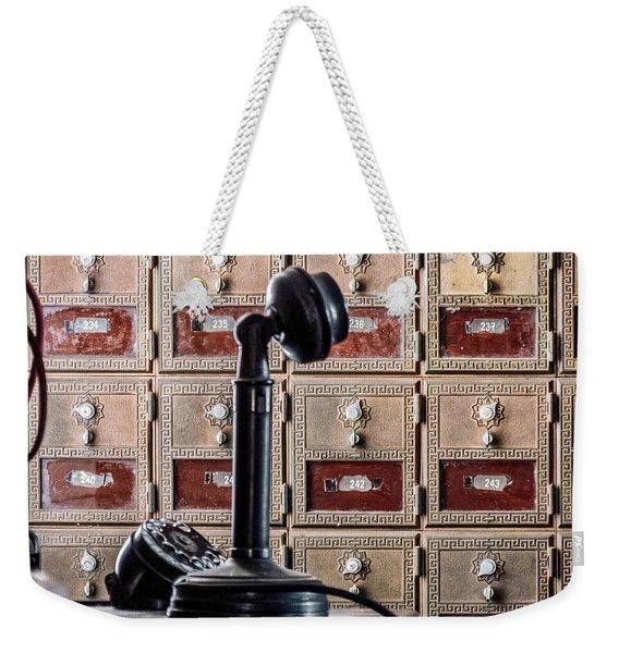 Mailbox 237 Weekender Tote Bag