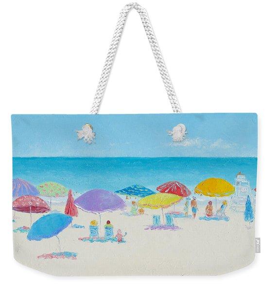Main Beach East Hampton  Weekender Tote Bag
