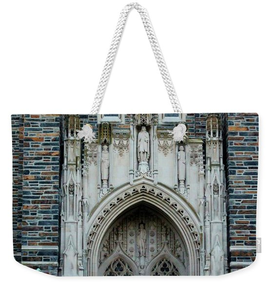 Main Entrance To Chapel Weekender Tote Bag