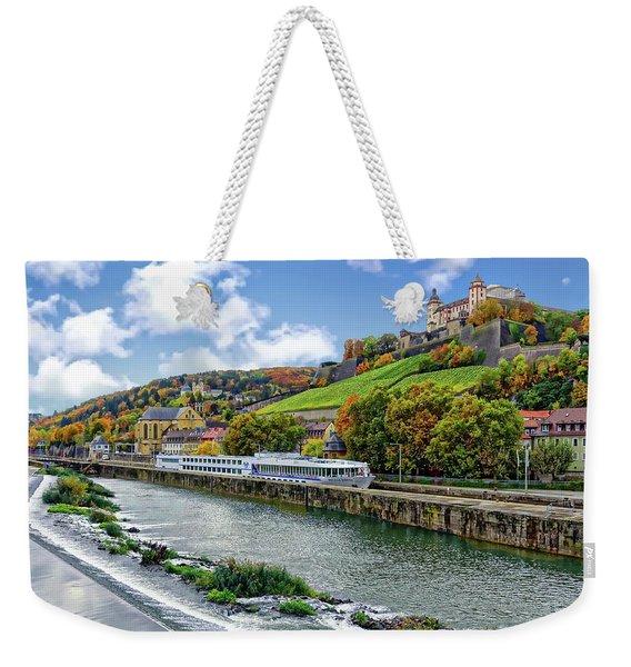 Main River Panorama Weekender Tote Bag