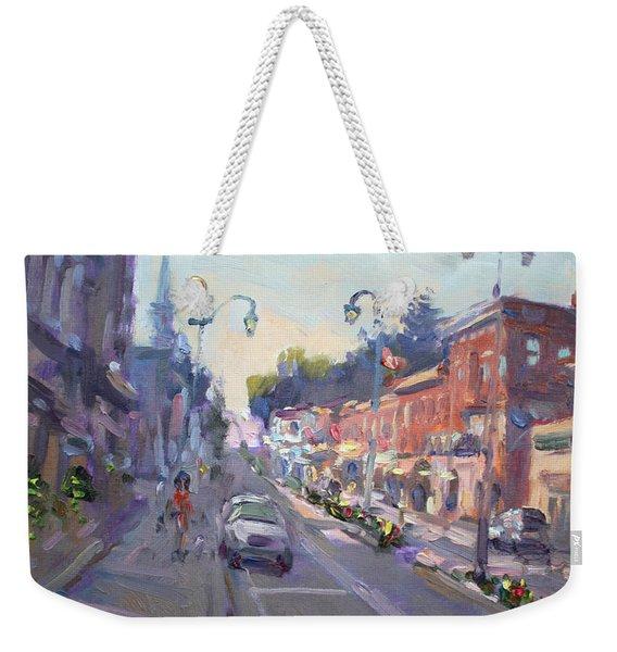 Main St Georgetown Downtown  Weekender Tote Bag