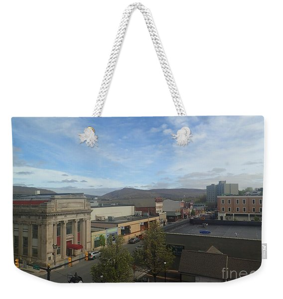 Main St To The Mountains   Weekender Tote Bag