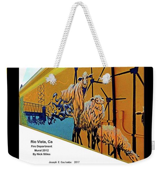 Main Street -  Nick Stiles Weekender Tote Bag