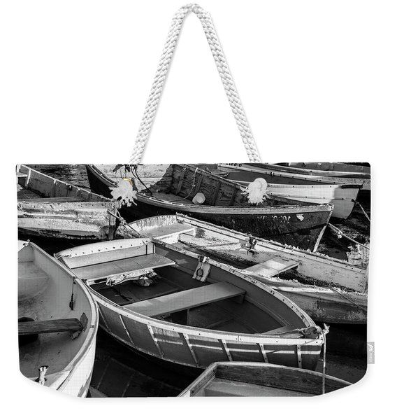 Maine Boats Weekender Tote Bag