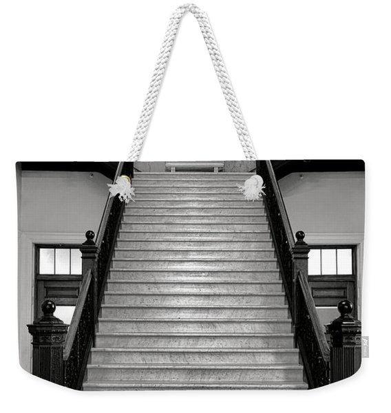 Maine Capitol West Wing Staircase Weekender Tote Bag