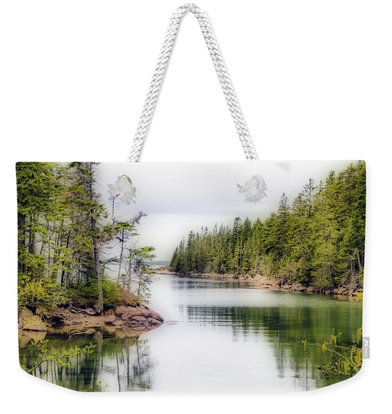 Maine Cove  Weekender Tote Bag