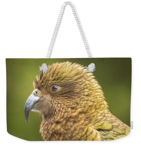 Kea Portrait Weekender Tote Bag