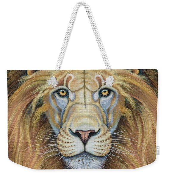 The Lion's Mane Attraction Weekender Tote Bag