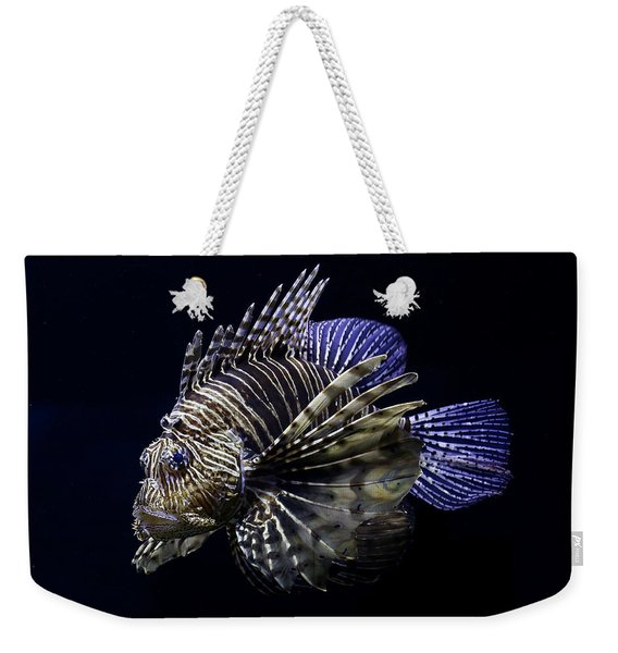 Majestic Lionfish Weekender Tote Bag