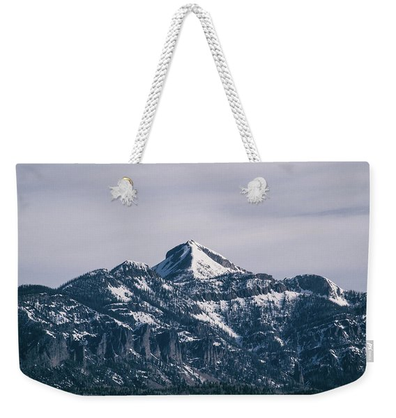 Weekender Tote Bag featuring the photograph Majestic Morning On Pagosa Peak by Jason Coward