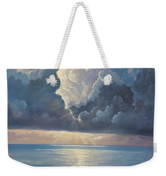 Weekender Tote Bag featuring the painting Majesty by Rosario Piazza
