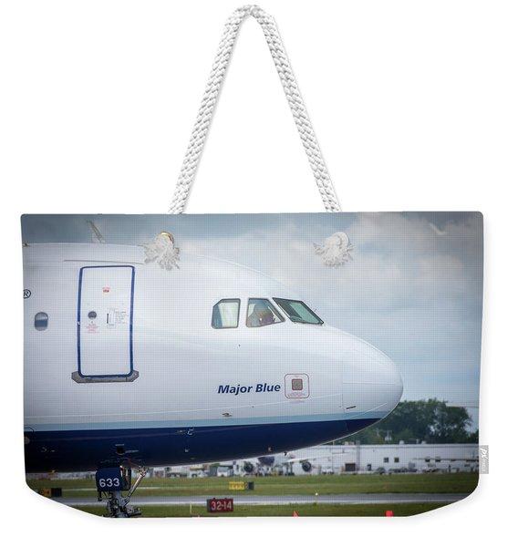 Major Blue Weekender Tote Bag