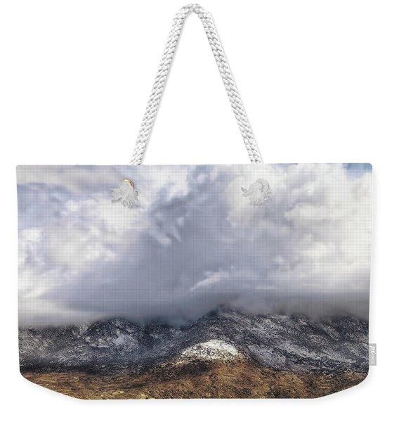 Major Storms A Brewing Weekender Tote Bag