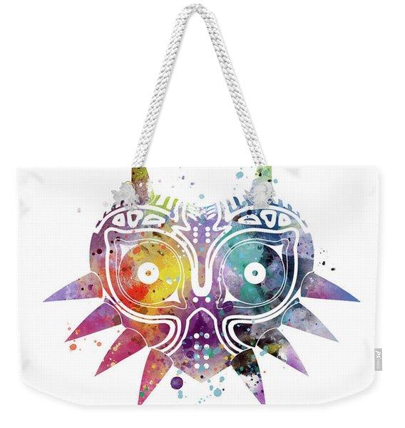Majoras Mask Weekender Tote Bag