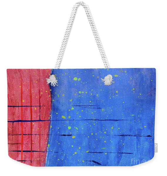 Make New Friends And Keep The Old Weekender Tote Bag