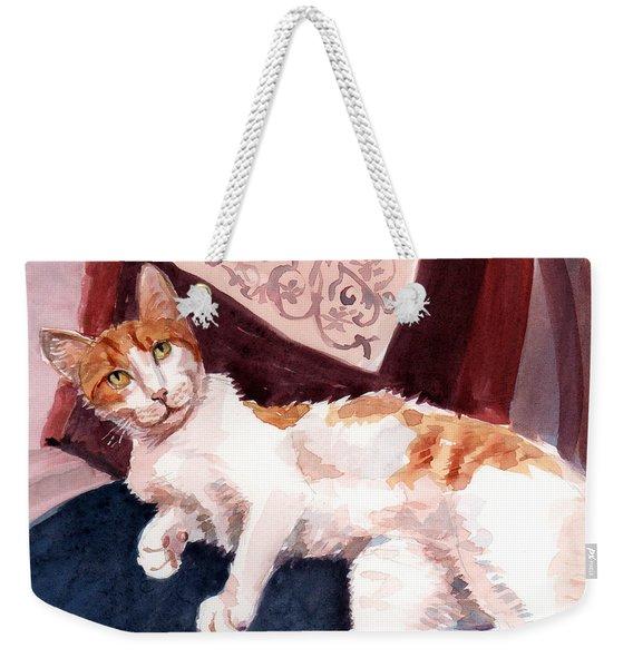 make yourself at home - Mr Fox Weekender Tote Bag