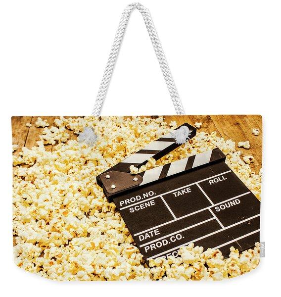 Making A Blockbuster Weekender Tote Bag