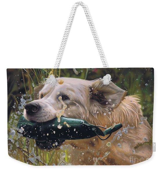 Making A Splash Weekender Tote Bag
