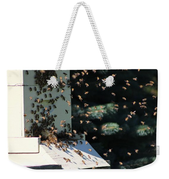 Making Honey - Landscape Weekender Tote Bag